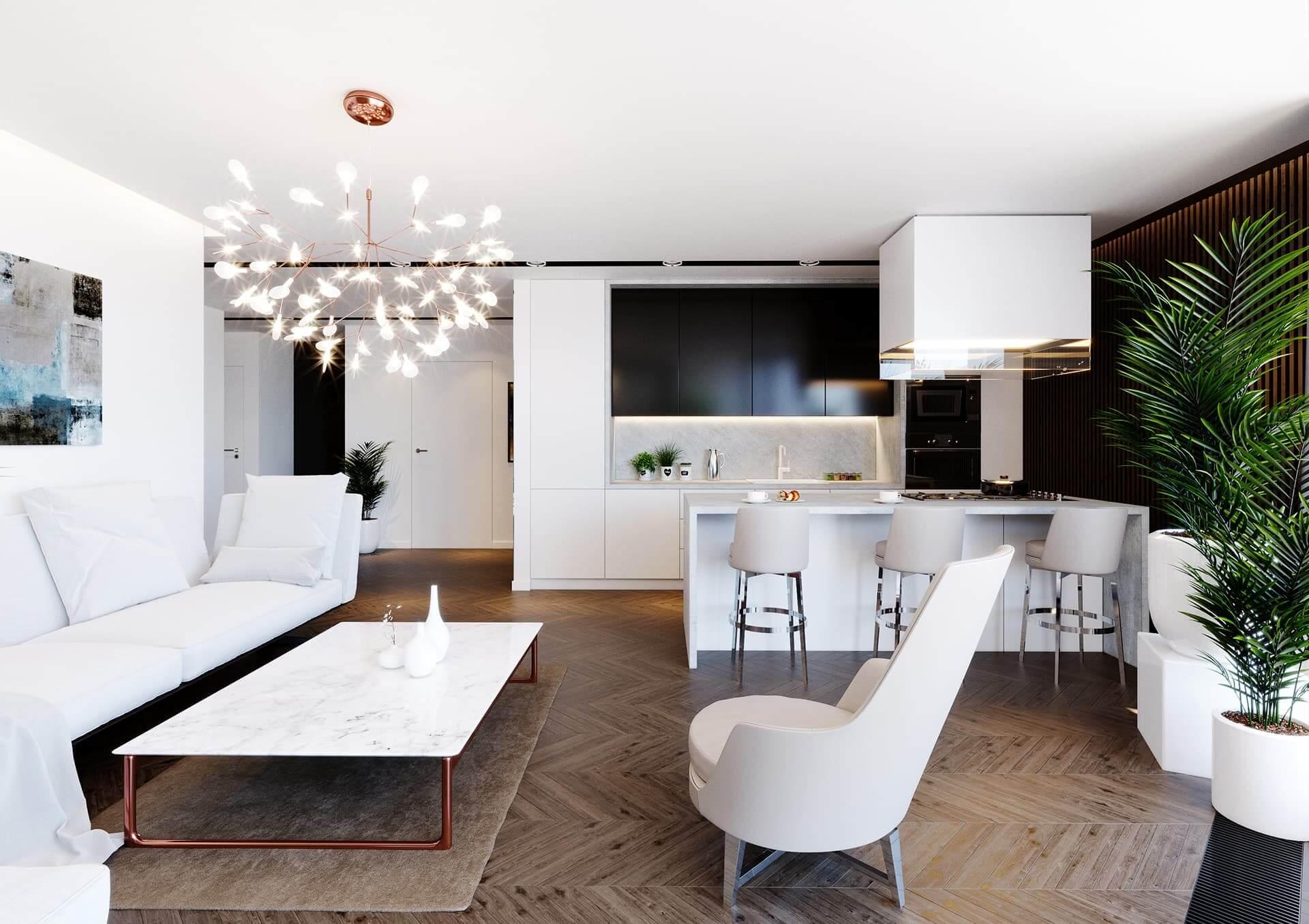 Mieszkanie z nutką włoskiego stylu przy ul. Jesionowej