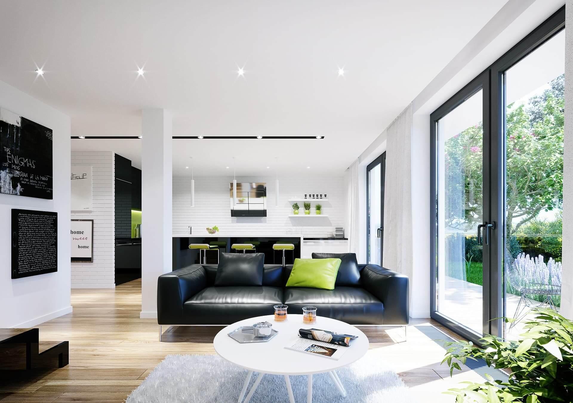 Dwu poziomowe mieszkanie w Skawinie