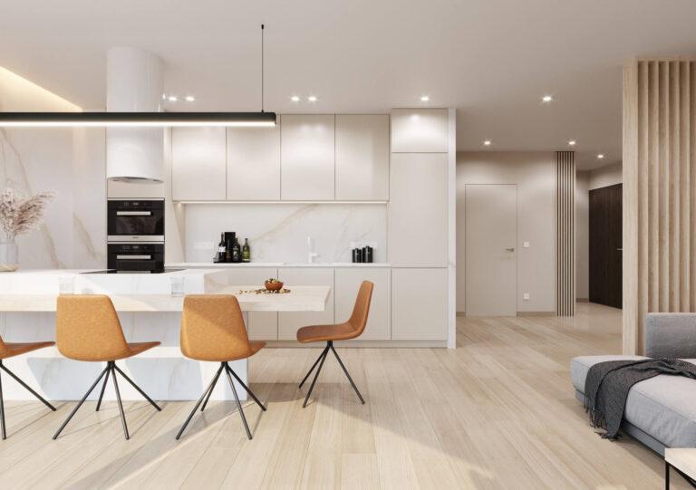Mieszkanie na Woli Justowskiej w nowoczesnym stylu